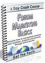 Forum marketing lessons