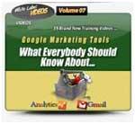 Google Marketing Tools Video Tutorials