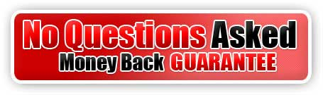 No question: money back guarantee